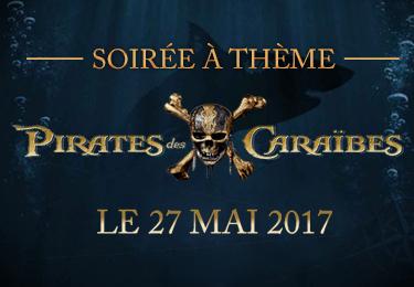 Soirée Pirates des Caraïbes
