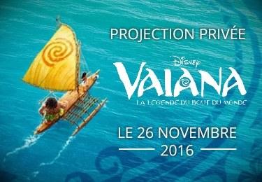 Projection privée Vaiana