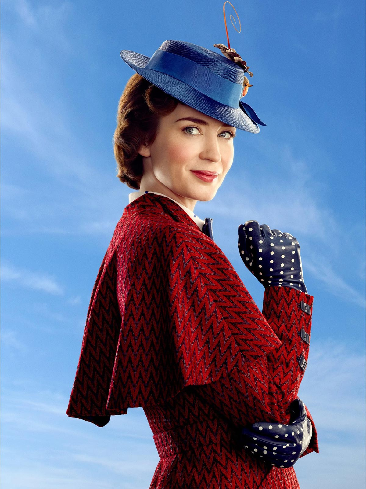 Emily Blunt dans Mary Poppins Returns