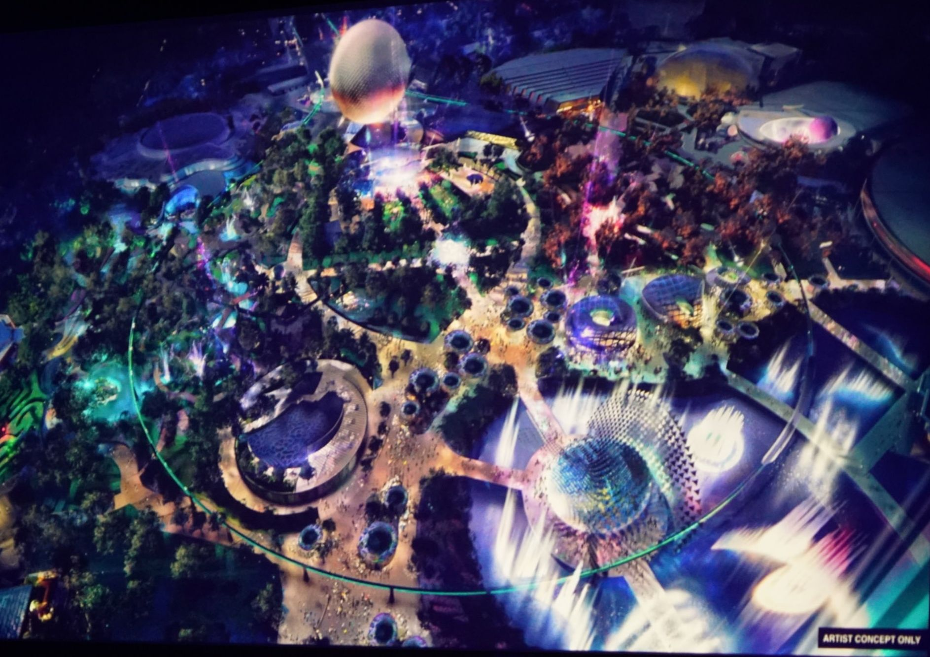 Placemaking d'EPCOT D23 Expo