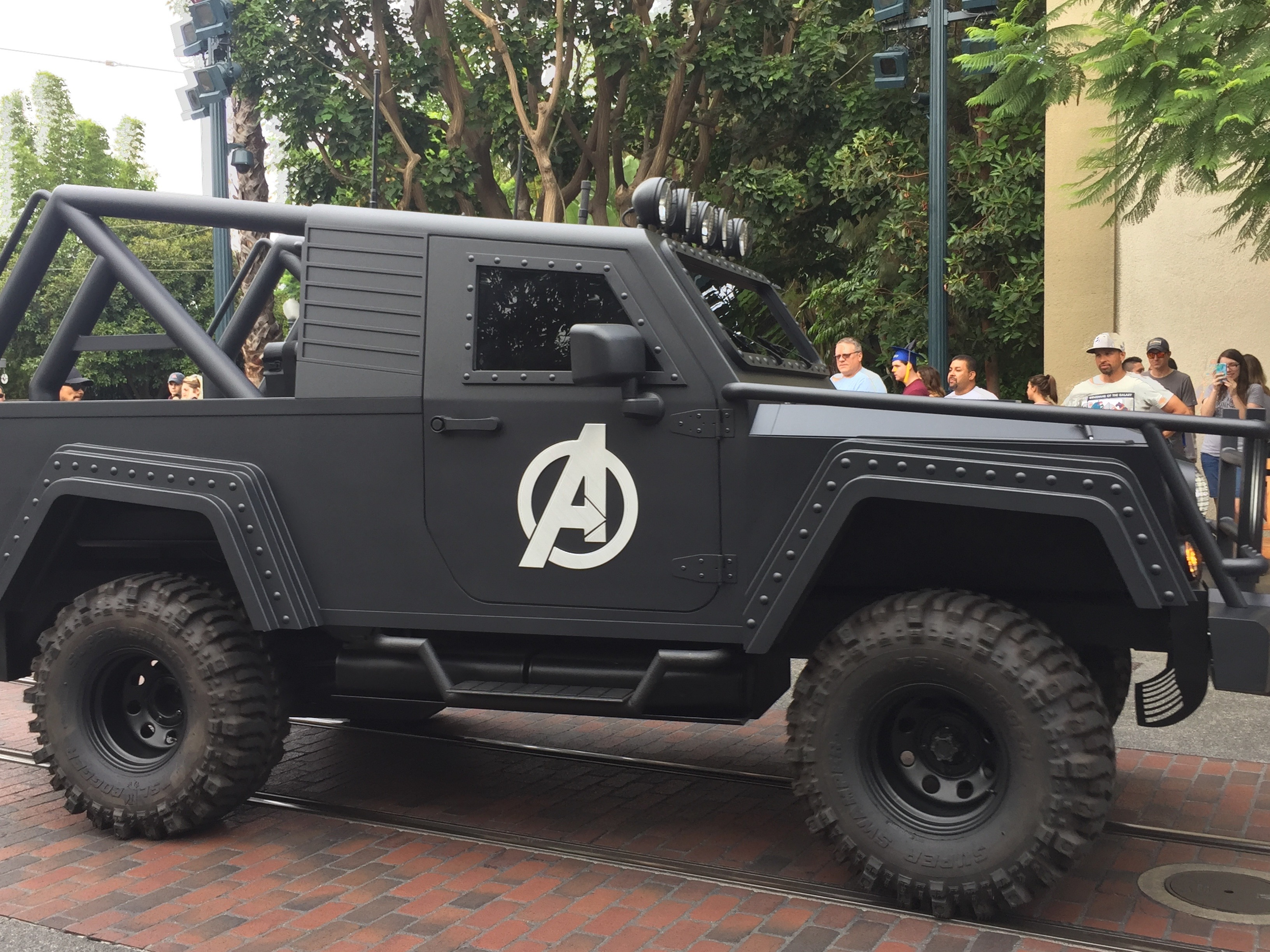Jeep Avengers, Summer of Heroes Disney California Adventure