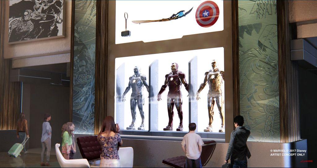 Hotel New York, The Art of Marvel à Disneyland Paris