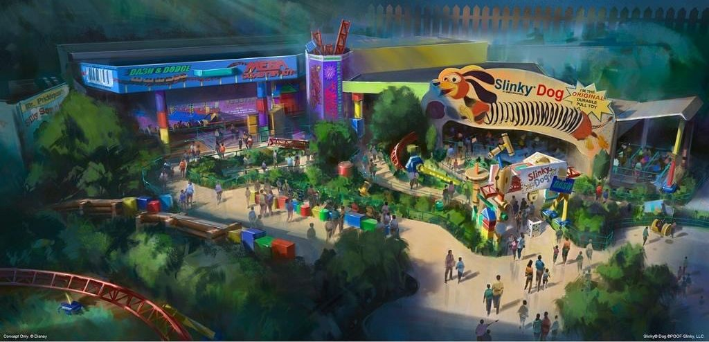 Toy Story Land concept aux Disneys Hollywood Studios