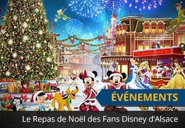 Repas de Noël de Fans Disney d'Alsace