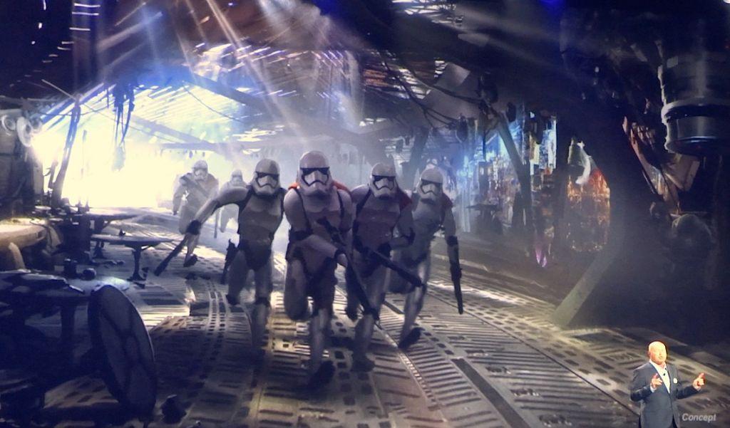 Attraction Premier Ordre Star Wars Galaxy's Edge