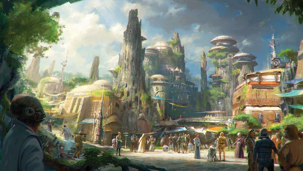 Star Wars Galaxy's Edge, planète de Batuu