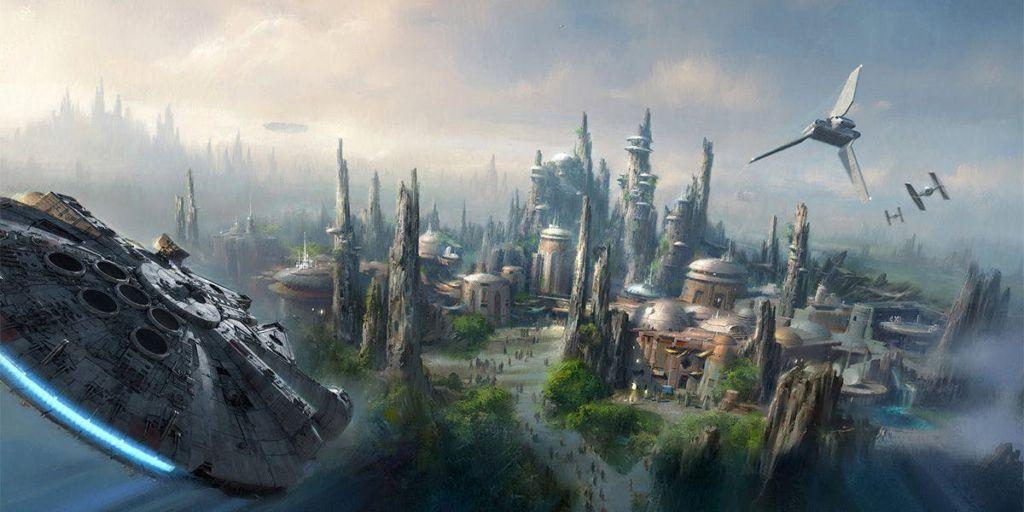 Concept de Star Wars Land
