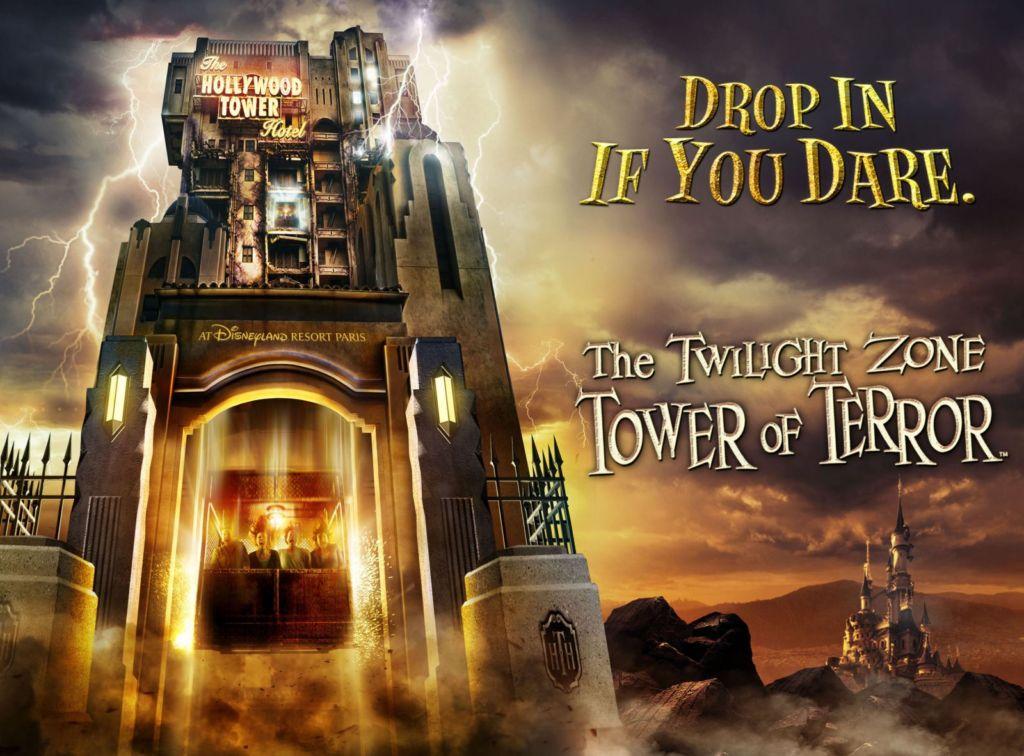 Tour de la Terreur, un Saut dans la Quatrième Dimension
