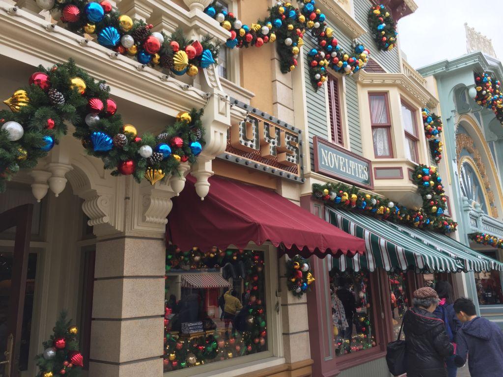 Façade de Main Street Hong Kong Disneyland
