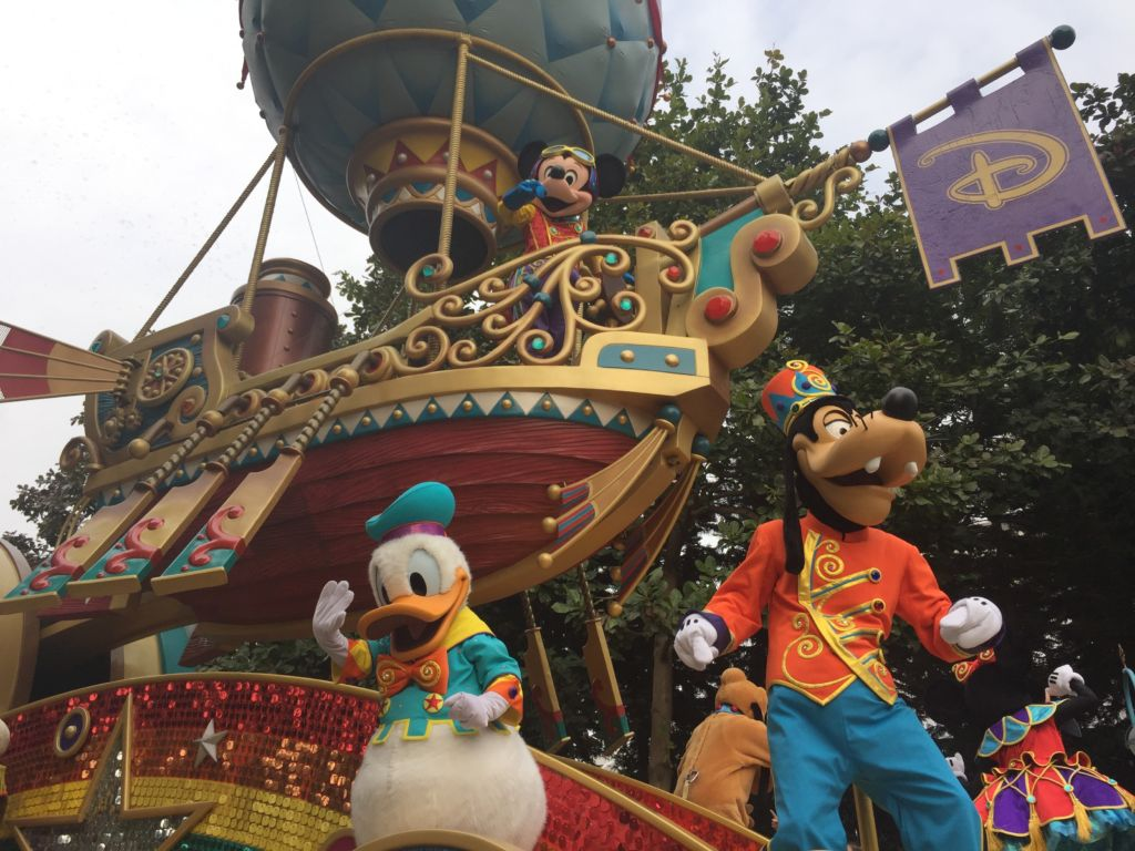 Flight of Fantasy Hong Kong Disneyland