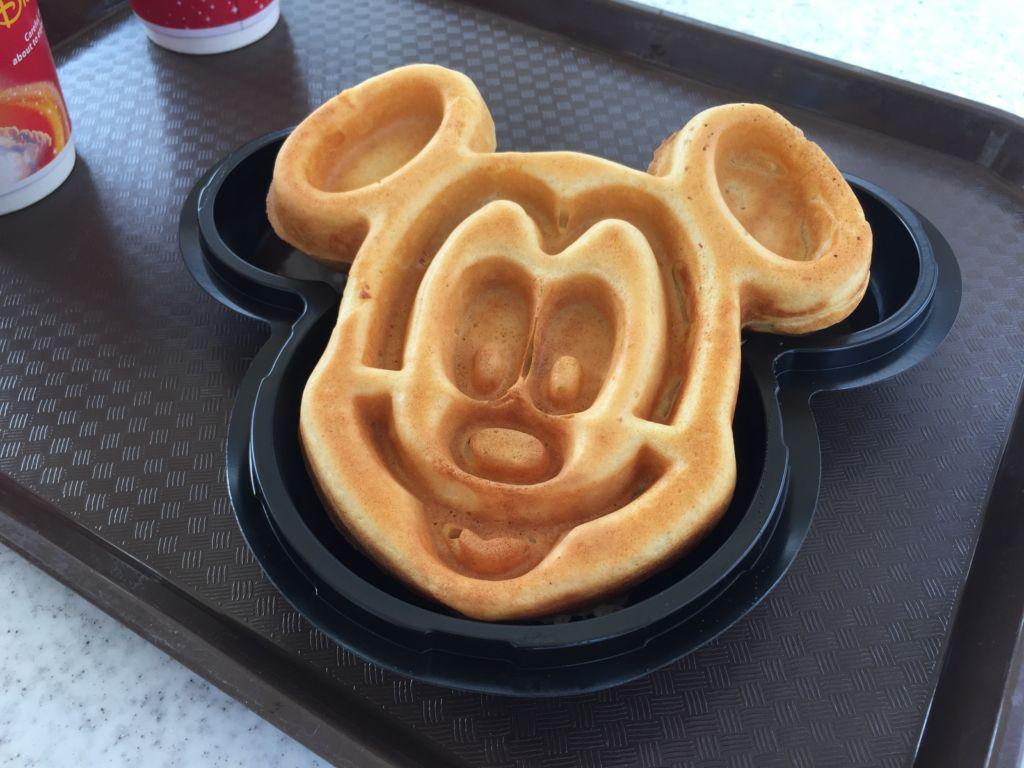 Gaufre Mickey Hong Kong Disneyland