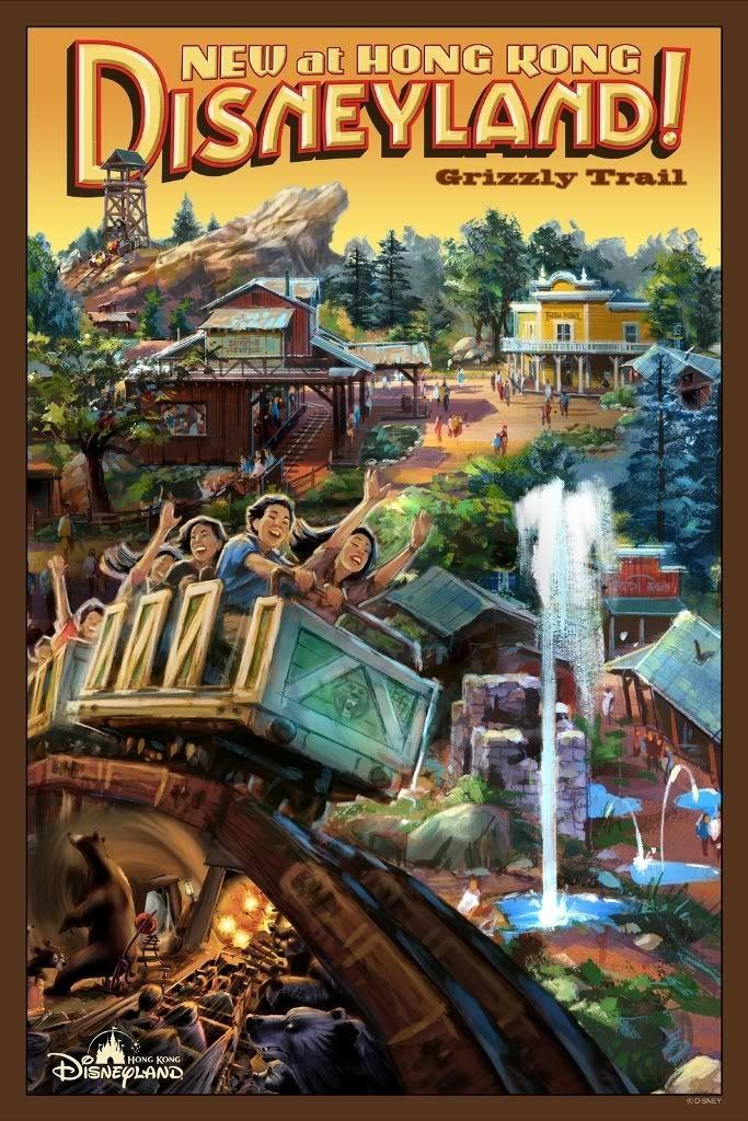 Hong Kong Disneyland Grizzly Gulch