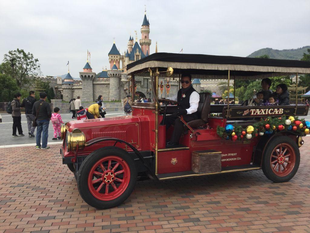 Main Street Vehicules Hong Kong Disneyland