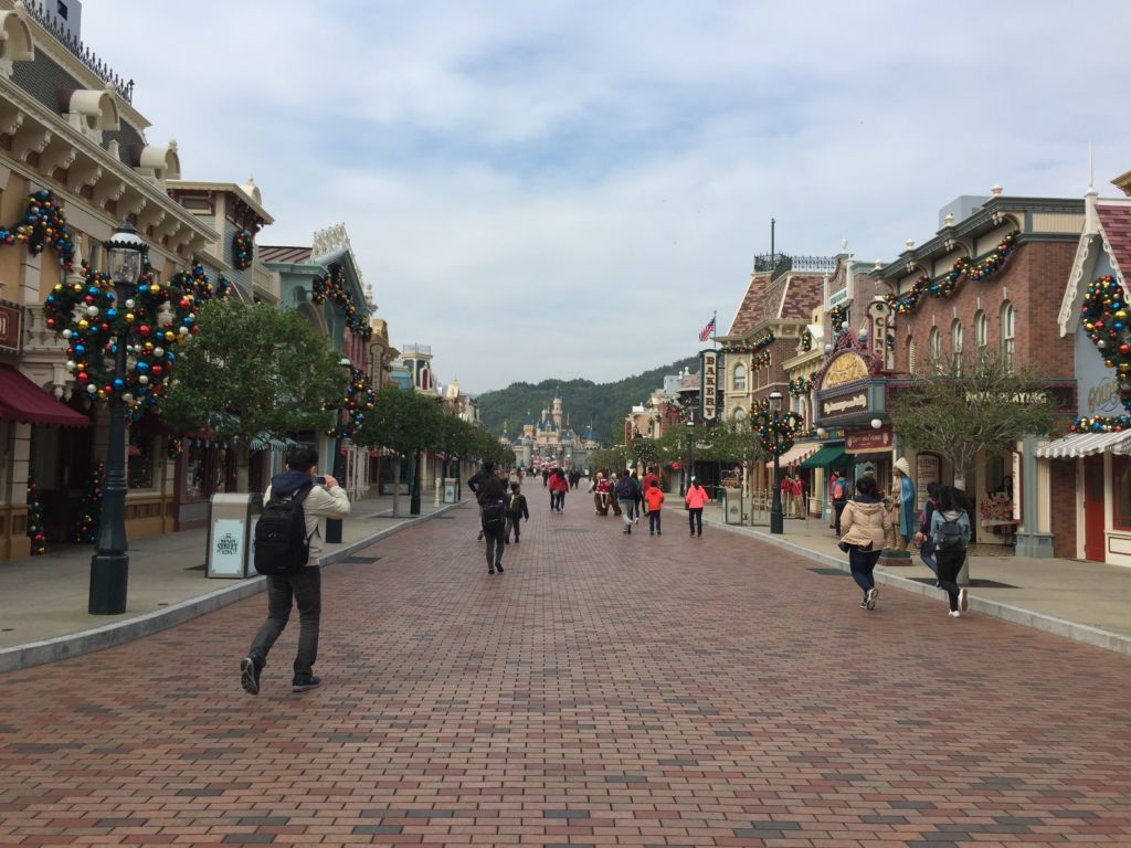 Main Street USA Hong Kong Disneyland