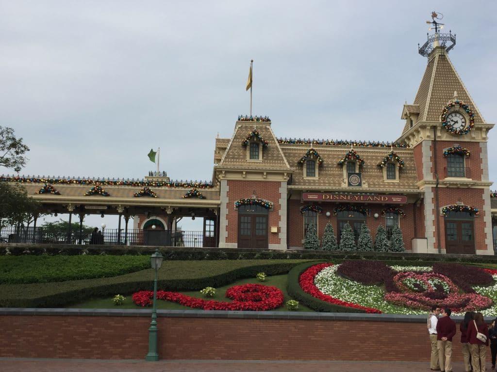 Main Street station Hong Kong Disneyland