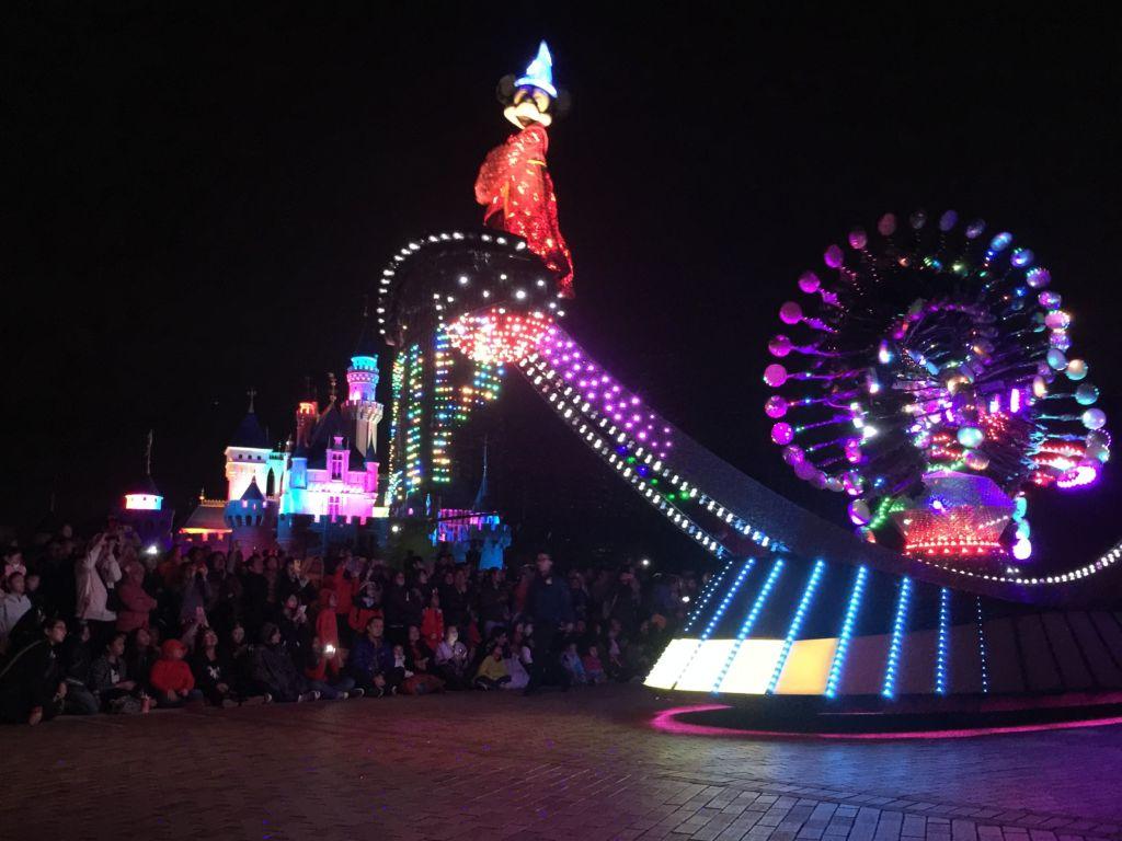 Paint the Night Hong Kong Disneyland