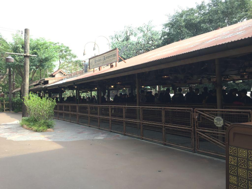 Quai d'embarquement de Jungle Cruise Hong Kong Disneyland