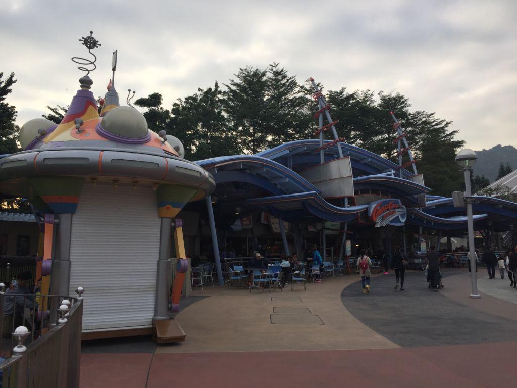 Restaurant de Tomorrowland Hong Kong Disneyland