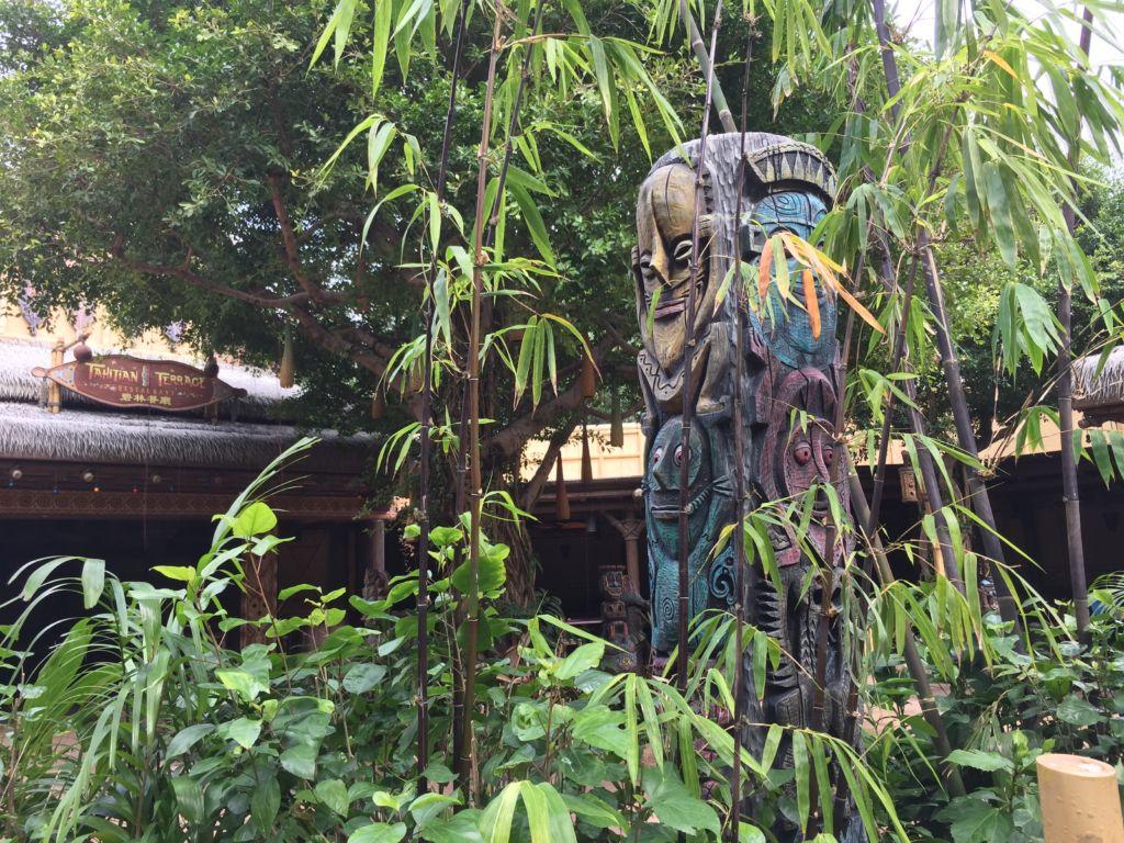 Tikis à Adventureland Hong Kong Disneyland