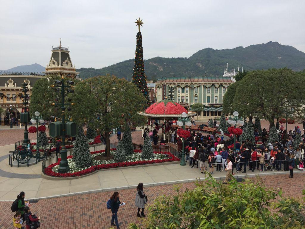 Vue de Hong Kong Disneyland