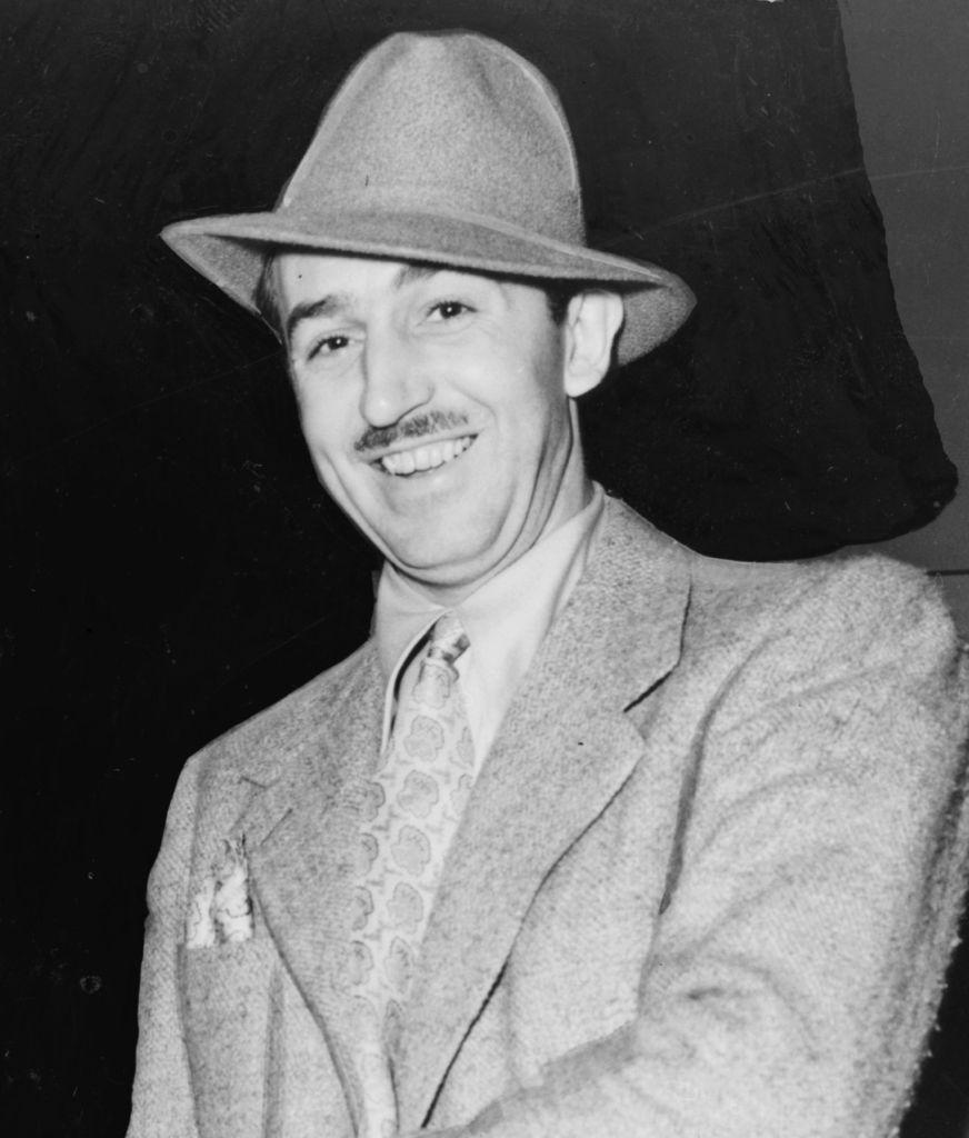 Portrait de Walt Disney