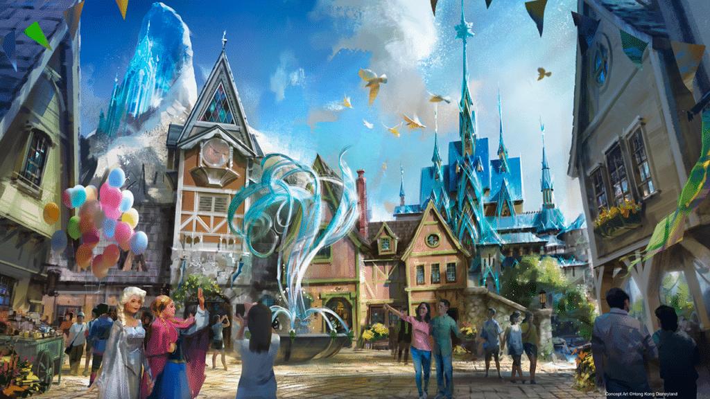 Arendelle à Disneyland Paris