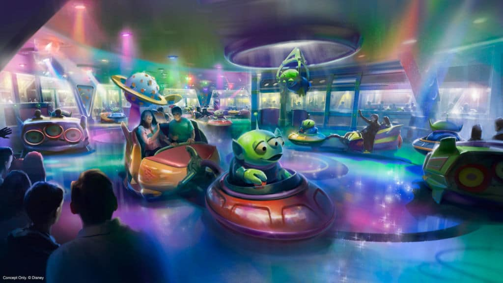 Nouvelle attraction Toy Story Playland, Walt Disney Studios