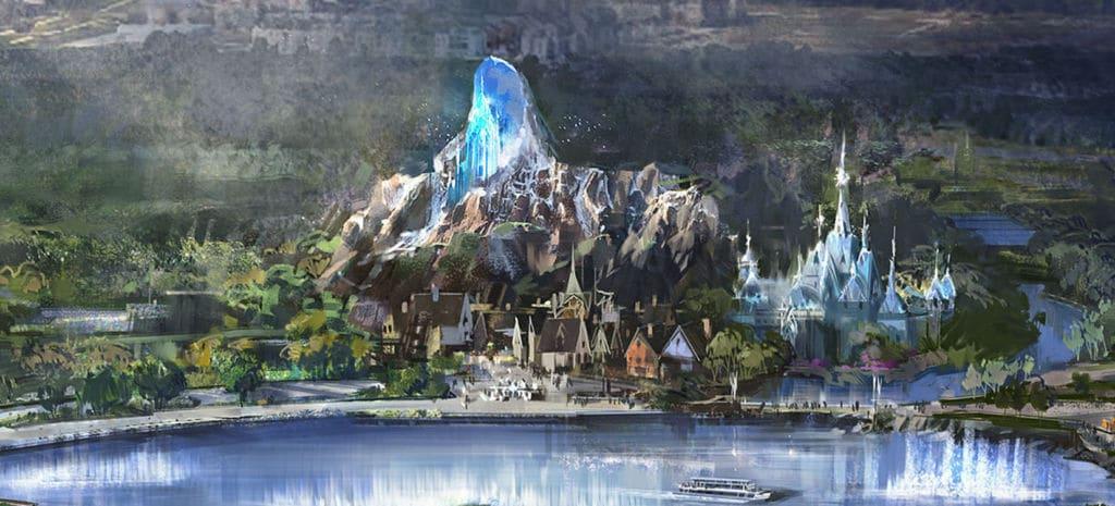 La Reine des Neiges aux Walt Disney Studios, Disneyland Paris