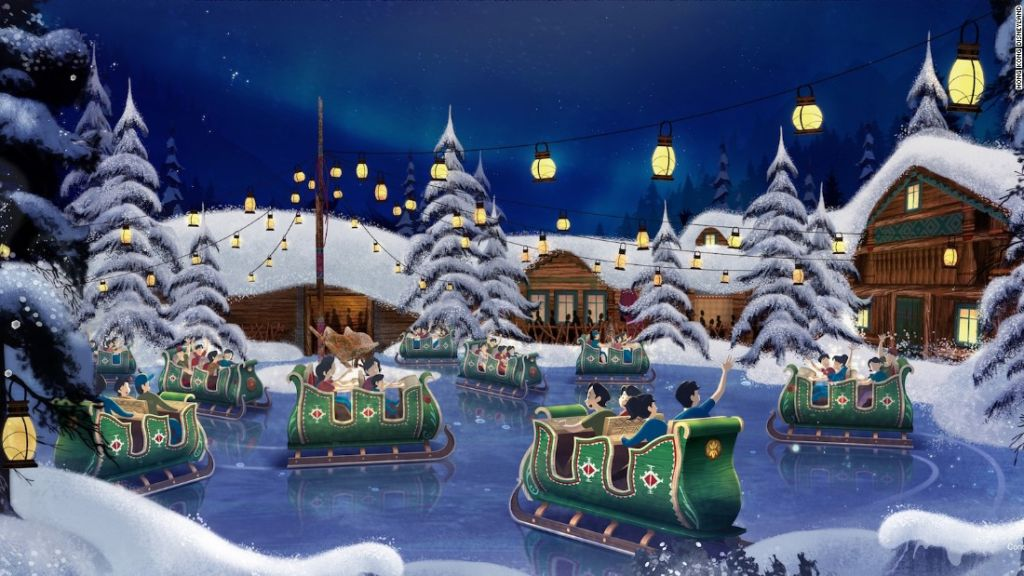 Oaken Dancin Sleigh Walt Disney Studios