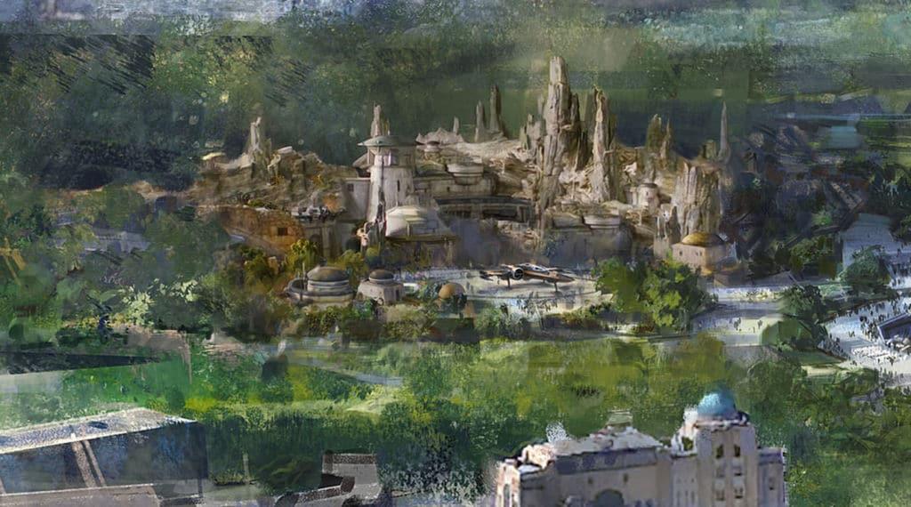Star Wars Land aux Walt Disney Studios