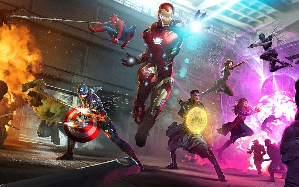 L'alliance des super-héros Marvel