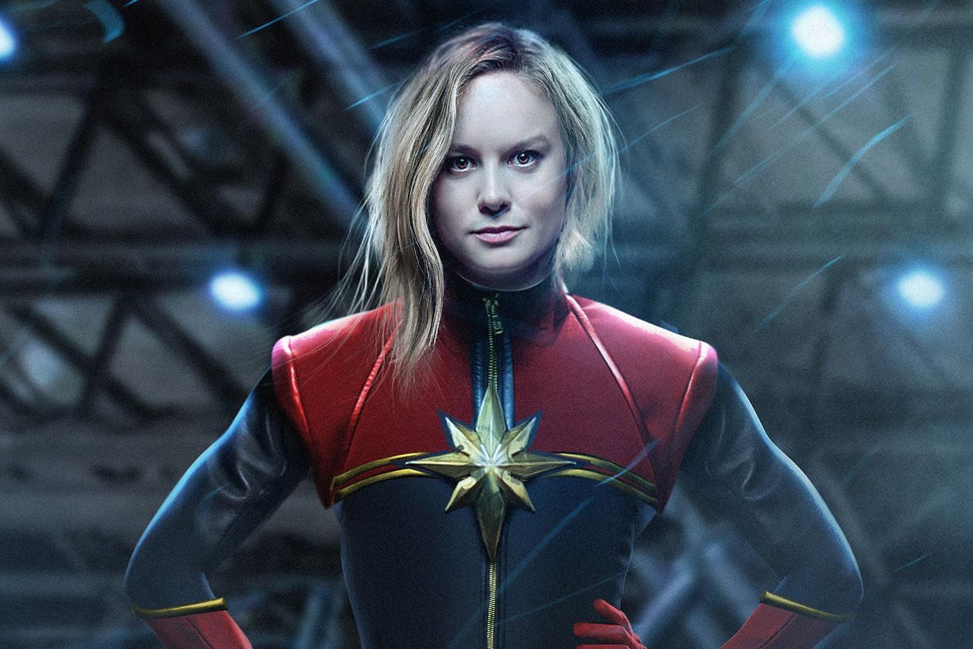 Captain Marvel / Carol Danvers Brie Larson)