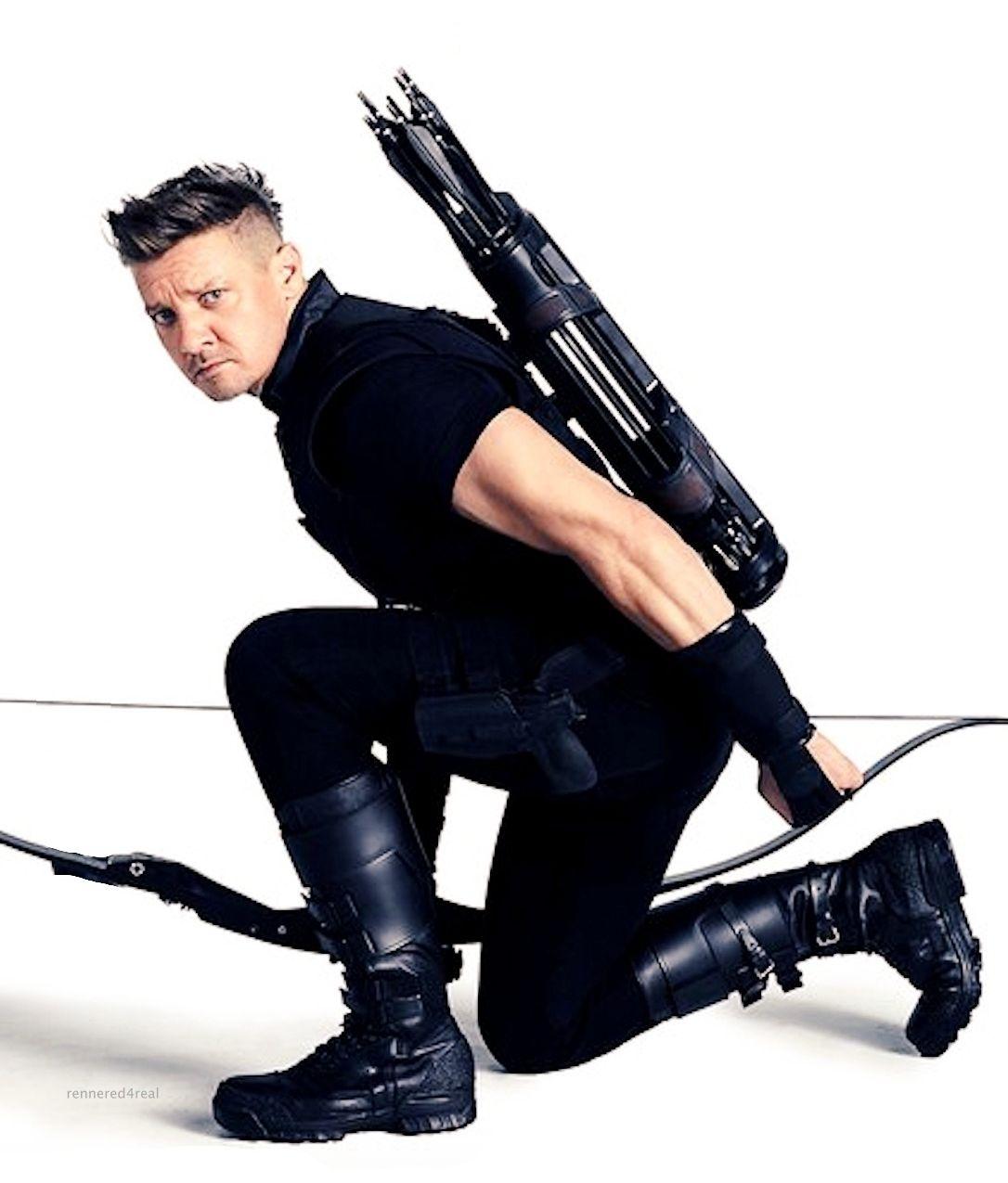 Hawkeye / Clint Barton (Jeremy Renner) dans Avengers : Infinity War