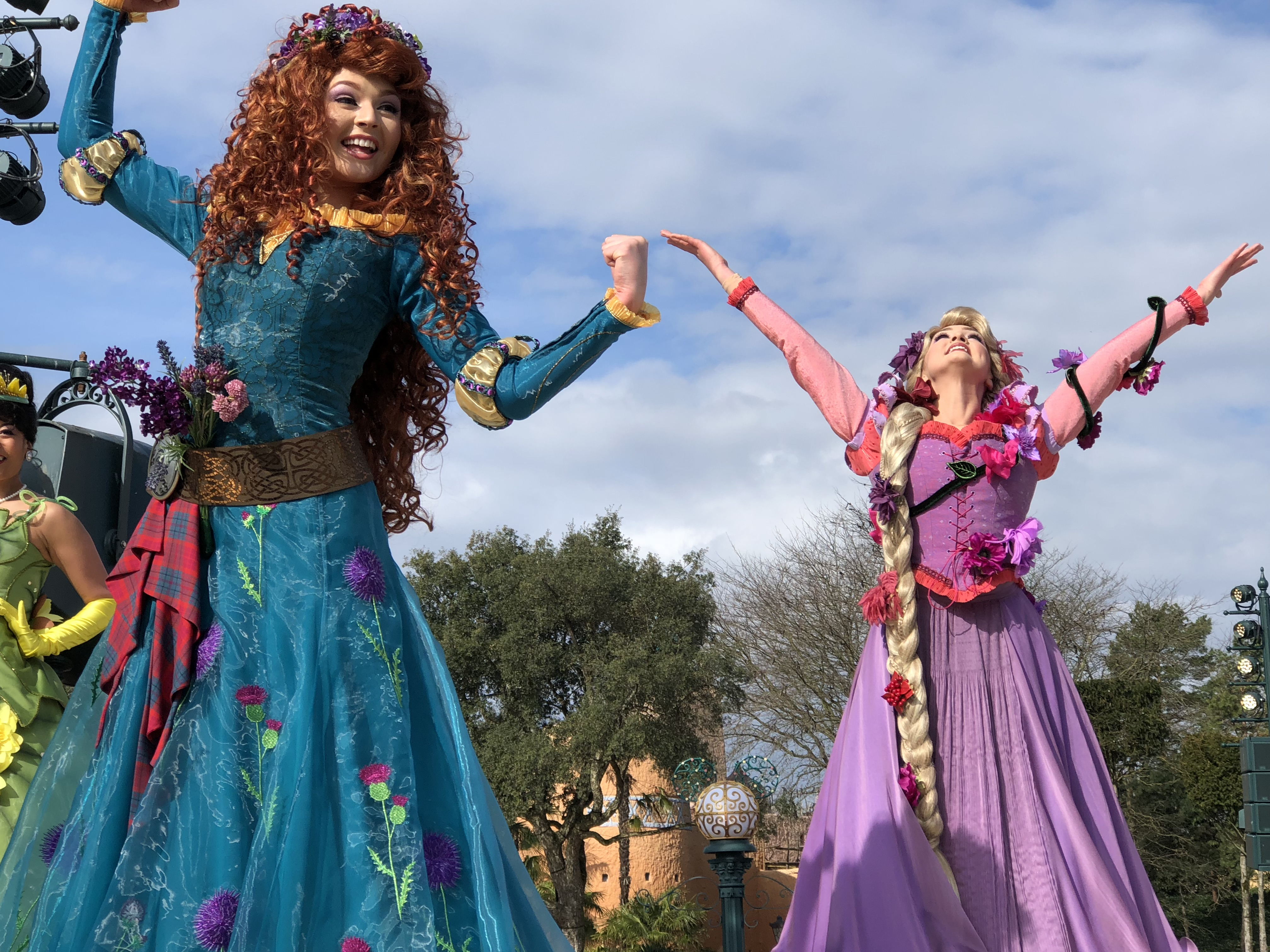 Merida et Raiponce, Festival Pirates & Princesses à Disneyland Paris