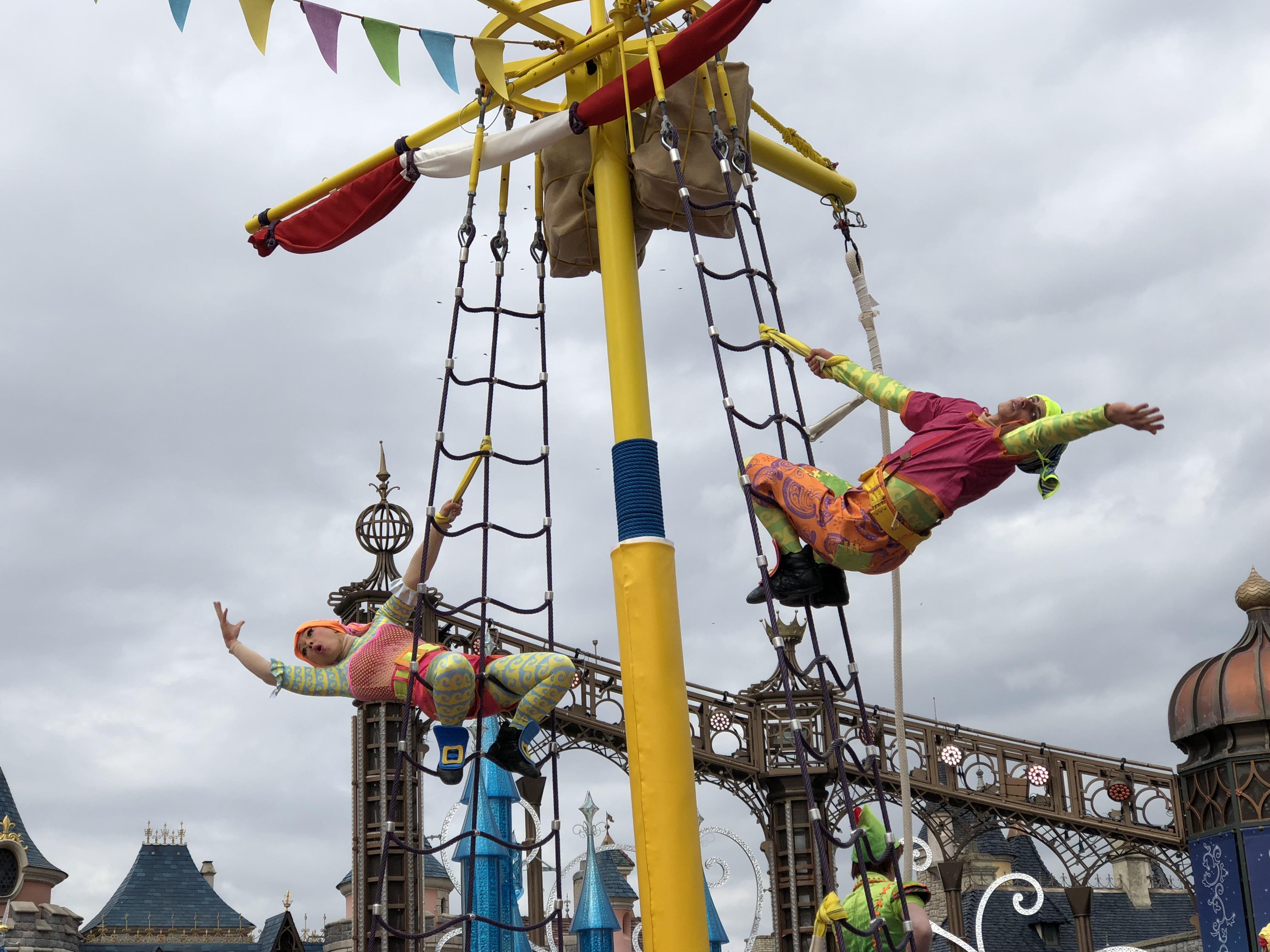 Les pirates du Festival Pirates et Princesses au Parc Disneyland