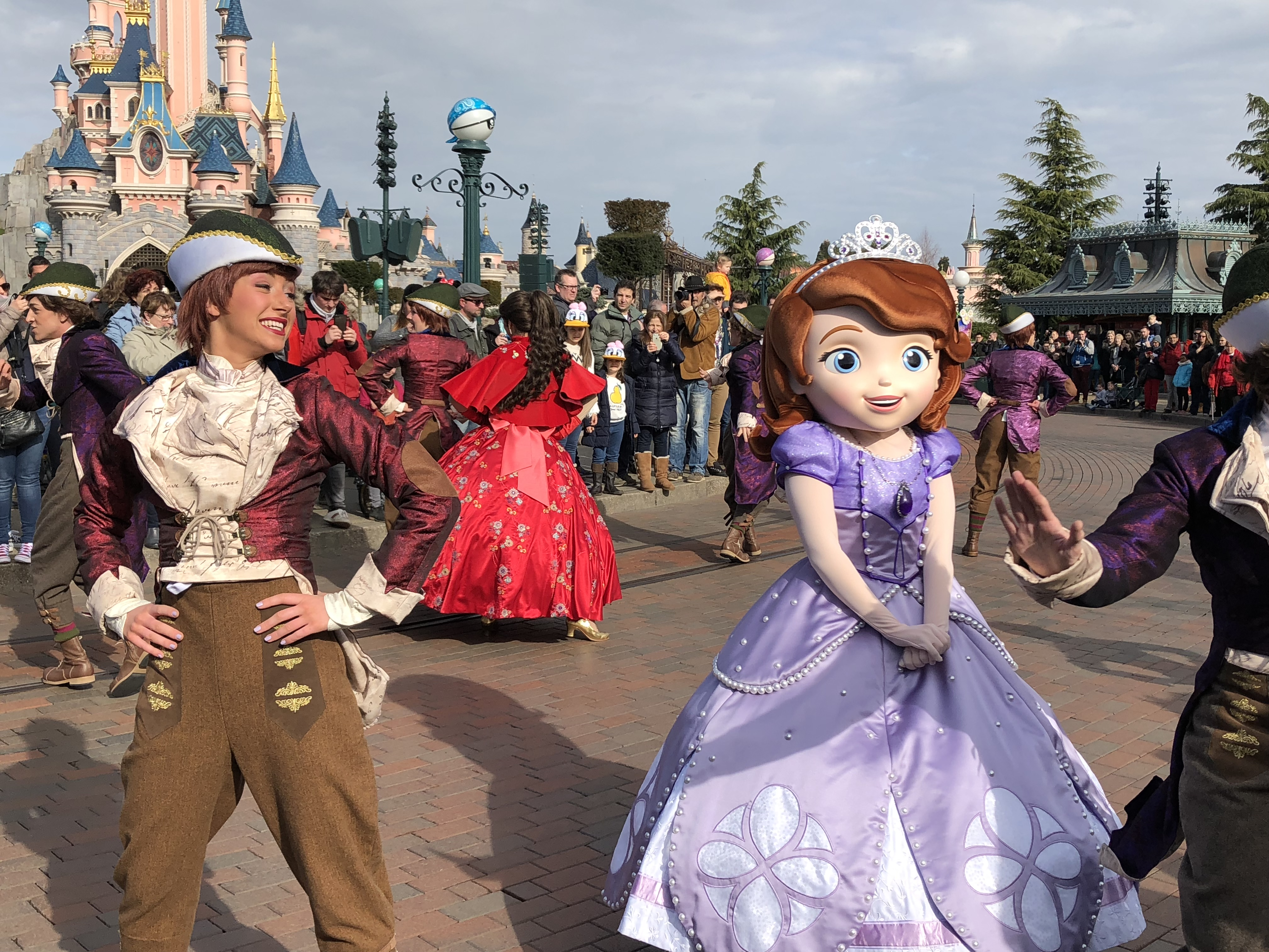 Princesse Sofia, Festival Pirates et Princesses Disneyland Paris