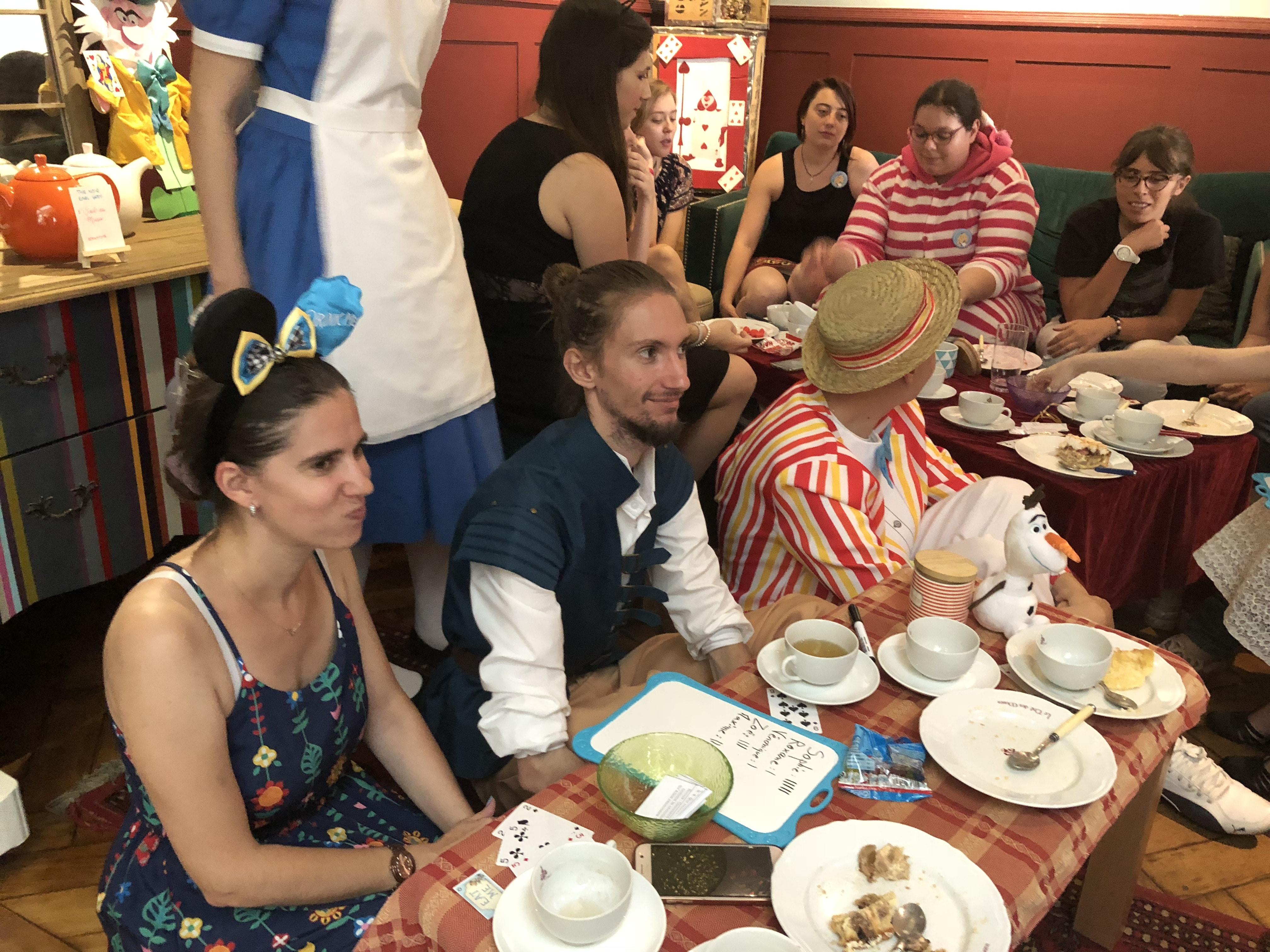 Alice Tea Party au Thé des Muses à Strasbourg