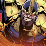 Portait de Thanos, méchant d'Avengers : Infinity War