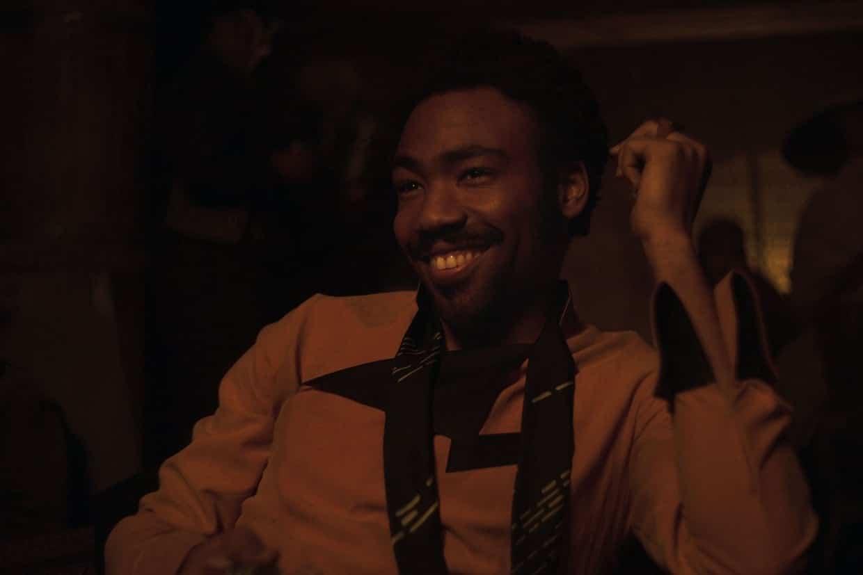 Solo, avec Donald Glover dans le rôle de Lando Calrissian