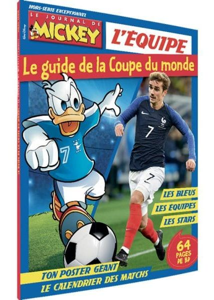 Le Journal de Mickey : Guide de la Coupe du Monde
