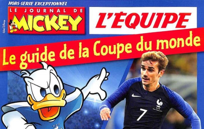 Le Guide de la Coupe du Monde dans le Journal de Mickey Collector