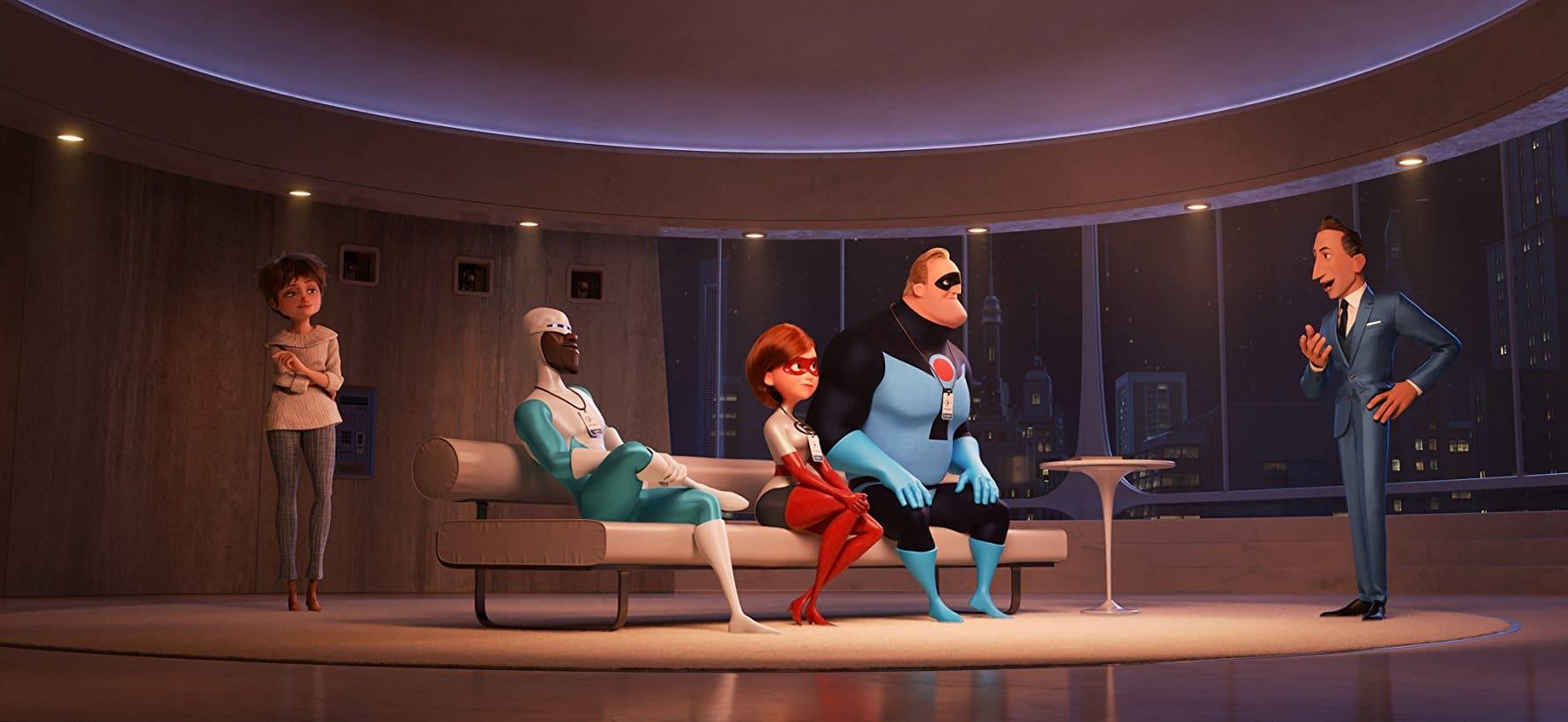 Les Indestructibles 2 avec Frozone, Elastigirl, Evelyn Deavor