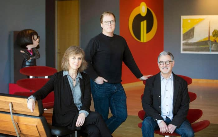 Interview avec le réalisateur des Indestructibles 2 Brad Bird et les producteurs John Walker et Nicole Grindle