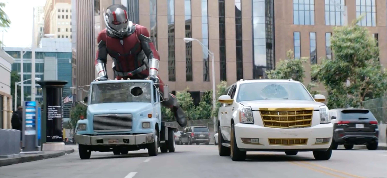 Séquence de course-poursuite dans Ant-Man et la Guêpe