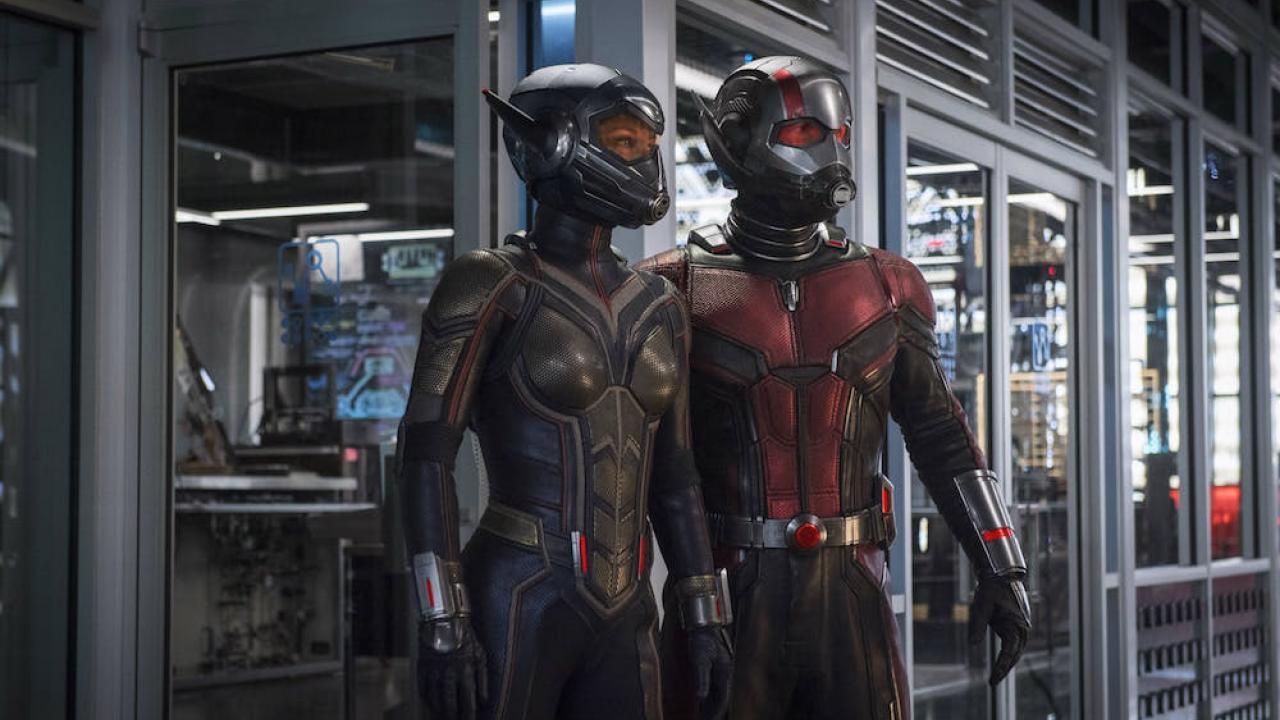 Ant-Man et la Guêpe, avec Paul Rudd et Evangeline Lilly