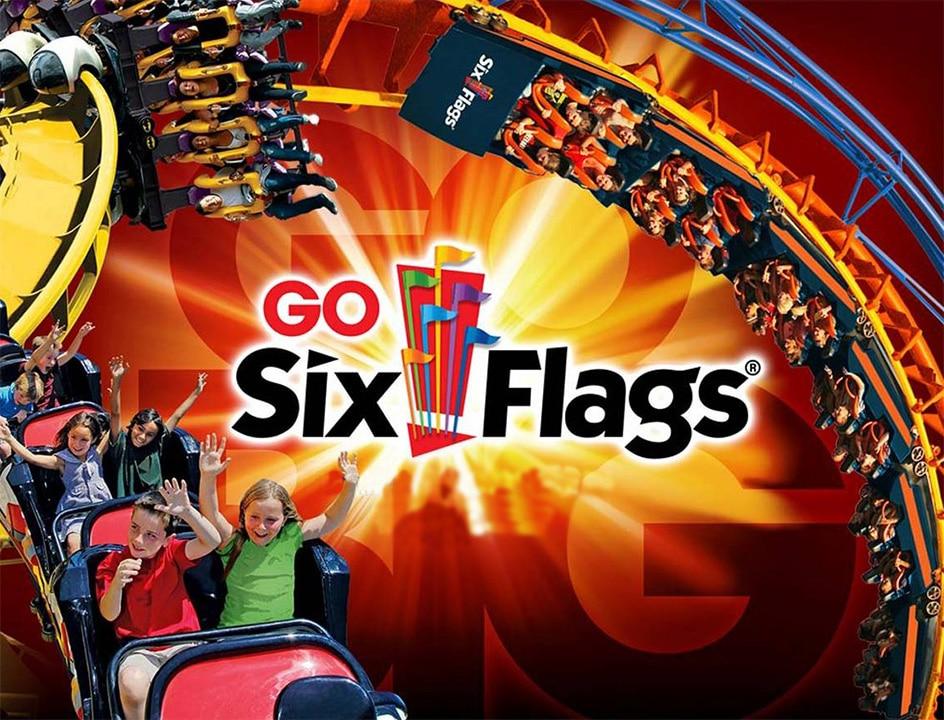 Publicité Six Flags