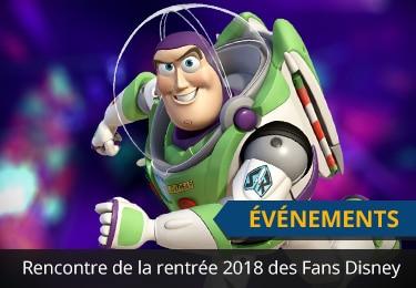 Rencontre de la Rentrée 2018 pour les Fans Disney d'Alsace