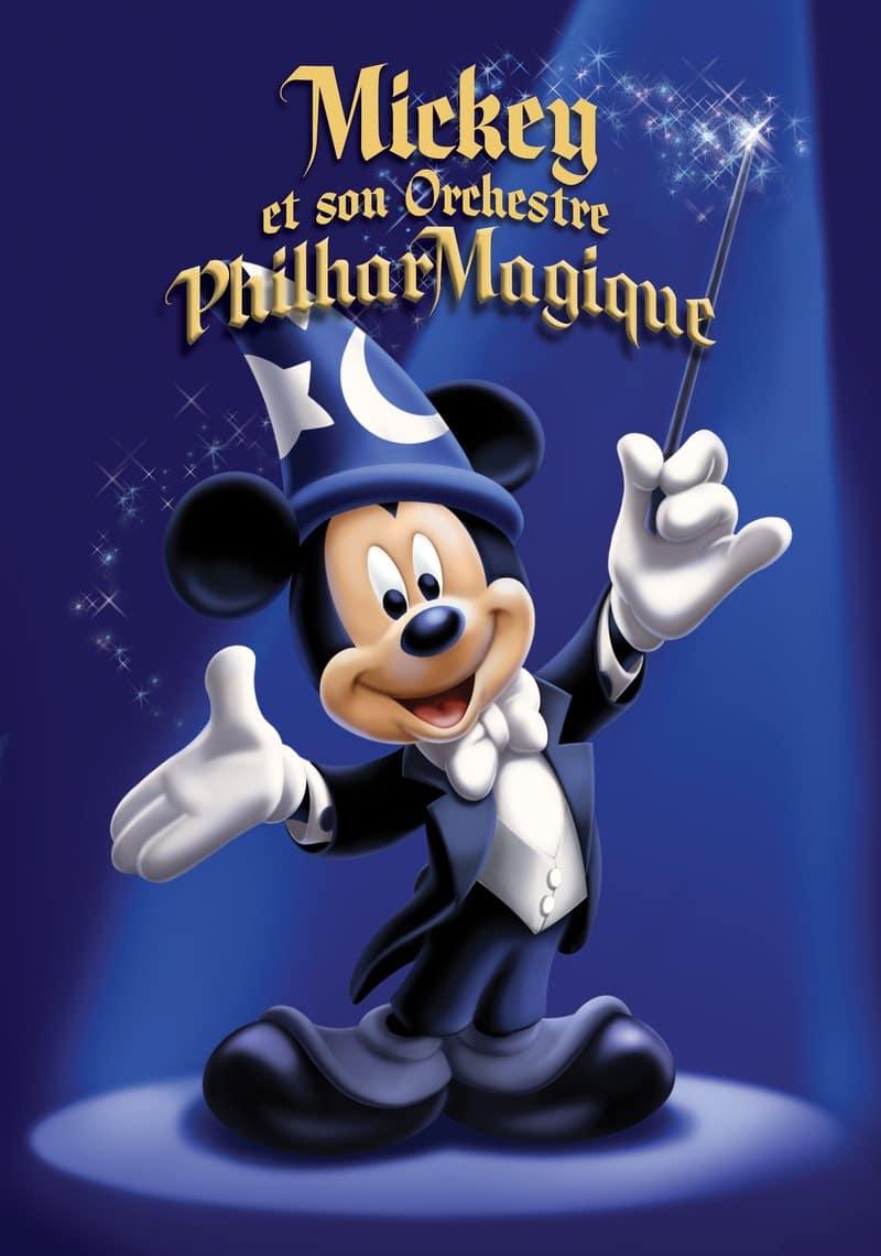 Affiche de Mickey et son Orchestre PhilharMagique