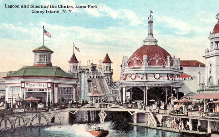 Les architectes dans les parcs à thème
