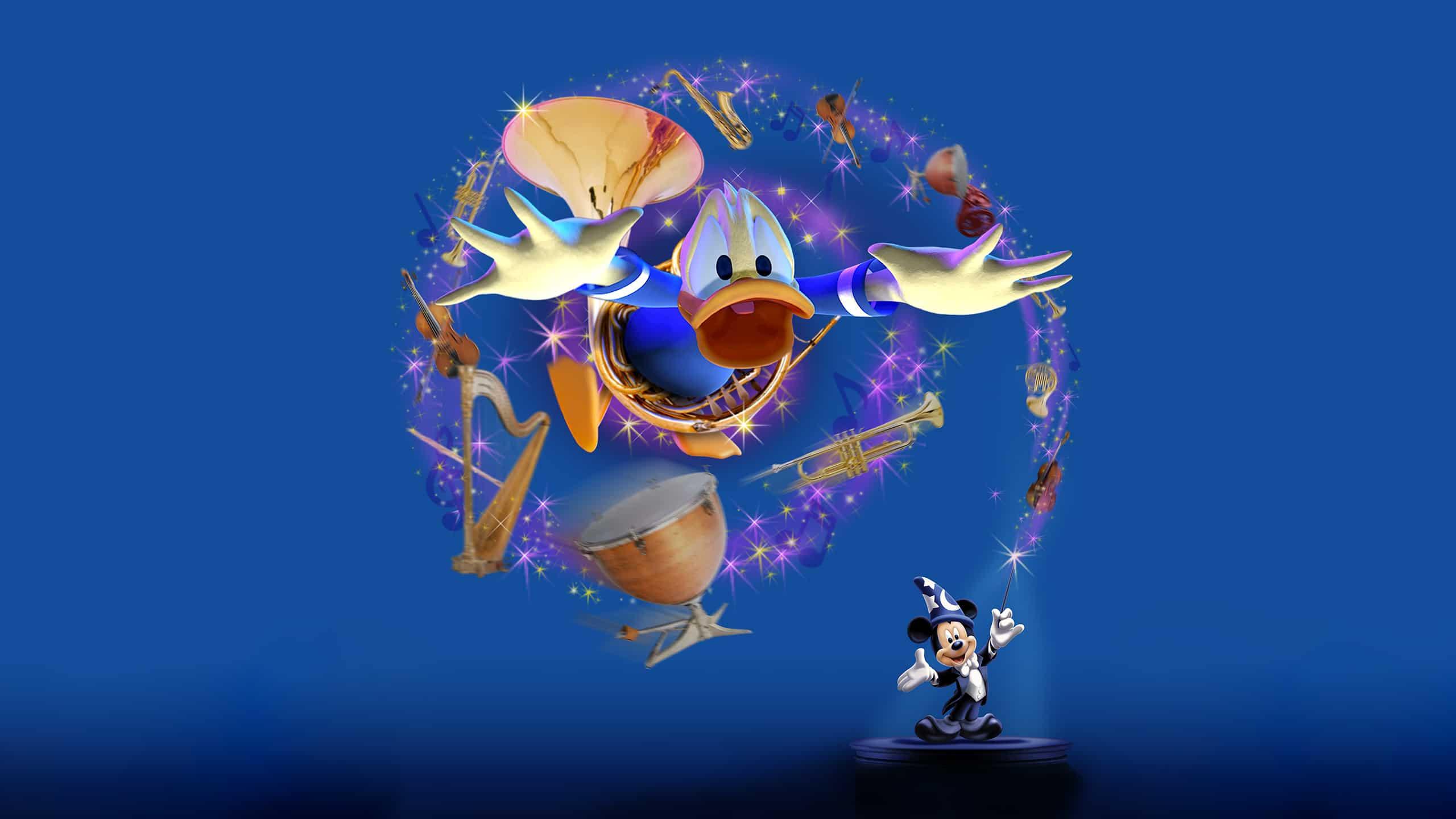 Concept de Mickey et son Orchestre PhilharMagique à Disneyland Paris